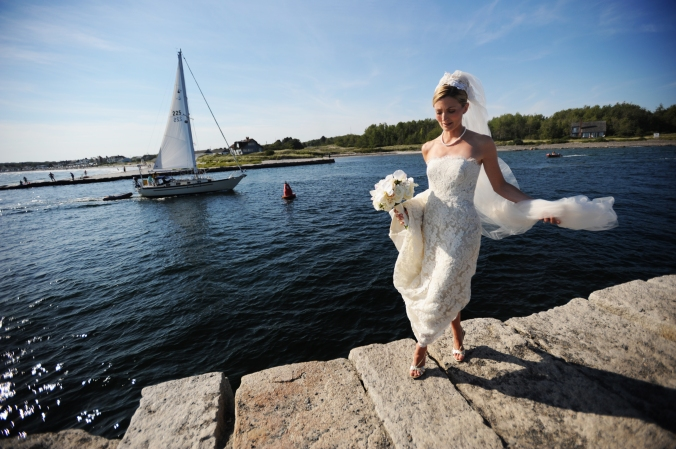Marriage Wedding Bride Sailing