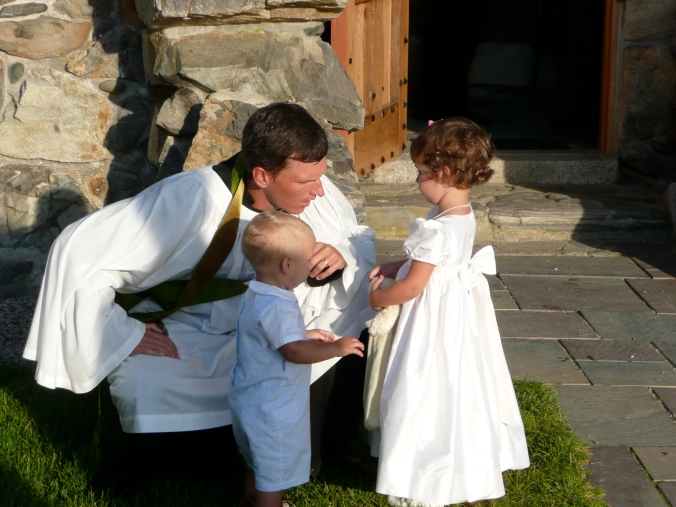 Marriage Wedding Officiant Minister Family Children Flower Girl Wedding Party